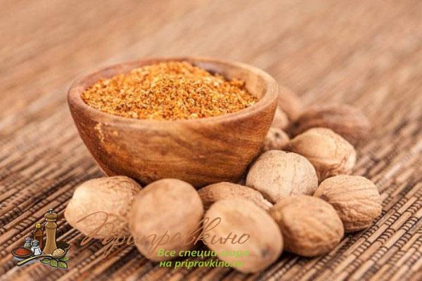 Мускатный орех применение в блюдах