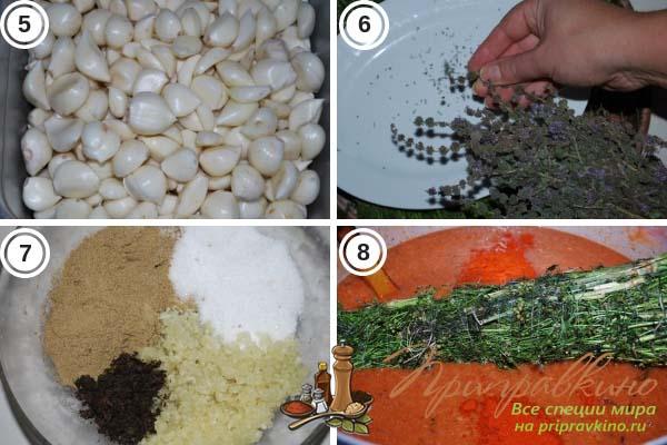 Пошаговый рецепт классического соуса ткемали из красных слив - 2