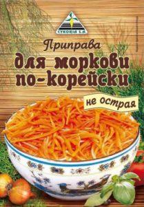 Cykoria / Приправа для моркови по-корейски не острая, 30 г