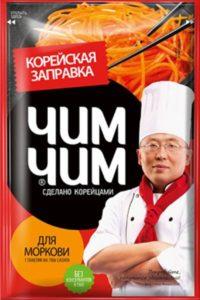 Корейская заправка Чим-Чим для моркови, 60 г