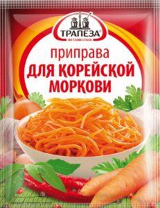 Трапеза / Приправа для корейской моркови, 25 г