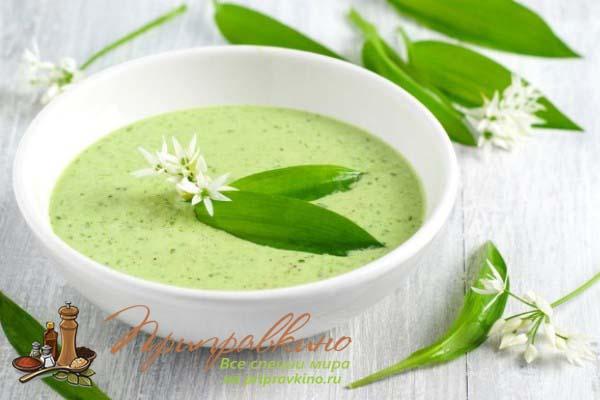 Рецепт супа с черемшой